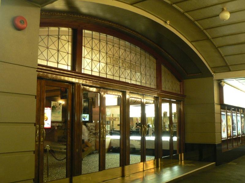 Regent Theatre Ballarat detail of entrance 2009