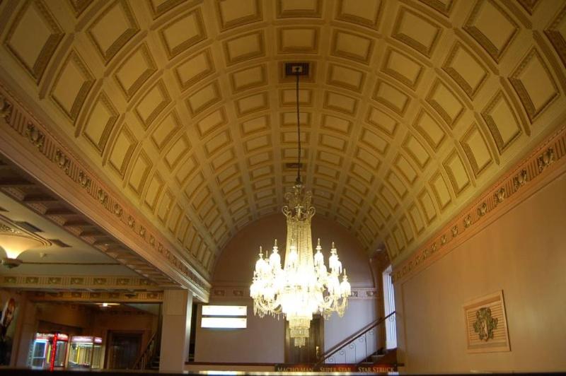 Regent Theatre Ballarat foyer ceiling detail 2009