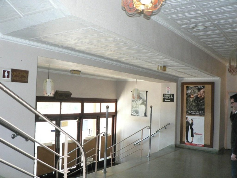 Lorne Cinema detail of foyer 2009