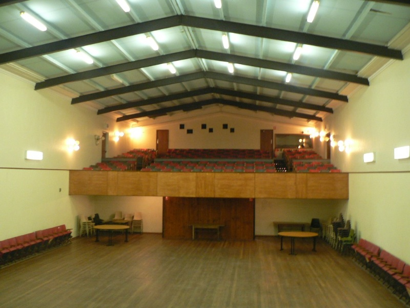 Memorial Hall Koroit interior of auditorium 2 2009