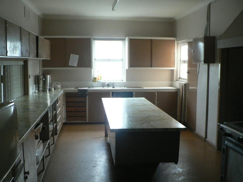 Memorial Hall Koroit kitchen 2009