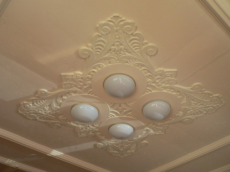 Horsham Theatre detail of ceiling 2009