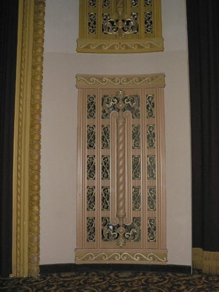 Regent Ballarat panel detail in auditorium 2009