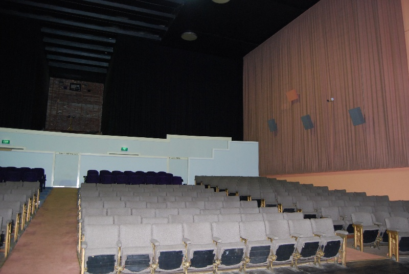 Midland Theatre Ararat view to rear of auditorium 2009