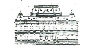 Bendigo Law Courts historic drawings