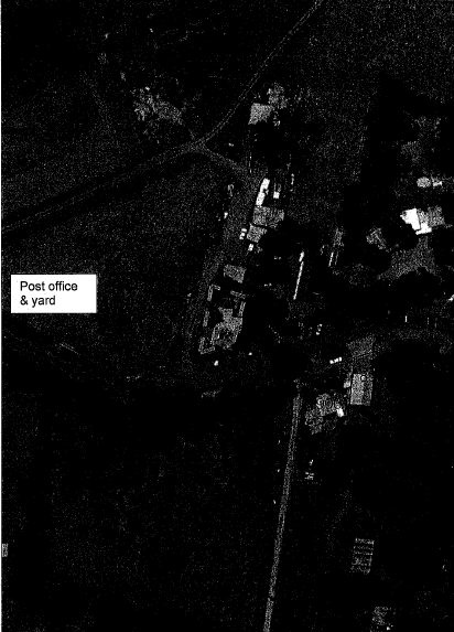 Arthurs Creek Store and Post Office - Plan prepared from recent aerial image (Nillumbik Shire, NTS) contributory elements as shown