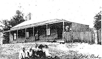 Former Christmas Hills Post Office Store - Thomas Young's Post Office Store'1907