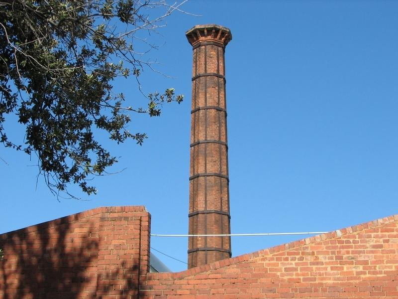 former australian licorice factory chimney