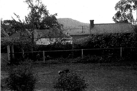 Rear view of house with out - buildings - Shire of Nillumbik Study, 2000