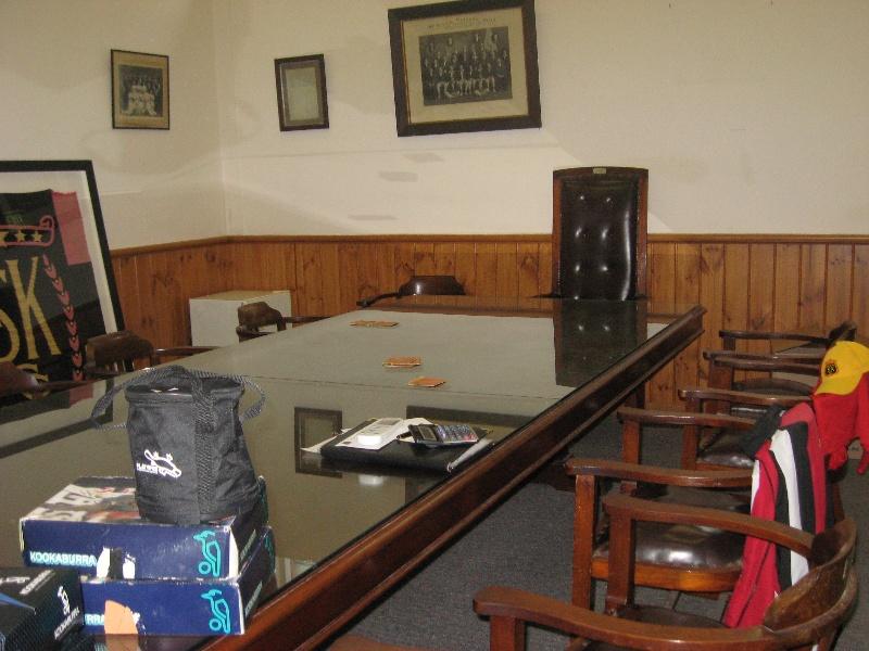 St Kilda Cricket Ground_Committee room_KJ_Oct 09