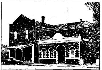 Shops and Hall 108-110 Urquhart St - Ballarat Conservation Study, 1978