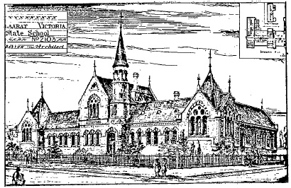 State School No 2103-02 - illustration from A History of State Education in Ballarat, Ballarat, 1974, p.56. -