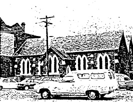 Anglican Church of Christ Hall Lydiard St - Film 1 / Frame 42 - Ballarat Conservation Study, 1978