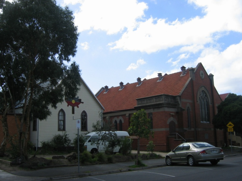 Former Thornbury Presbyterian Church and Hall
