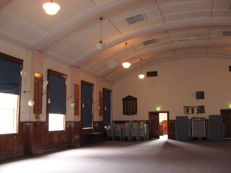 Bendigo Senior Secondary College_hall_KJ_Nov 09