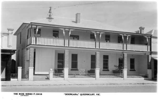 SLV c1950 Doongara, 62 Hesse Street (37 Learmonth Street), Queenscliff