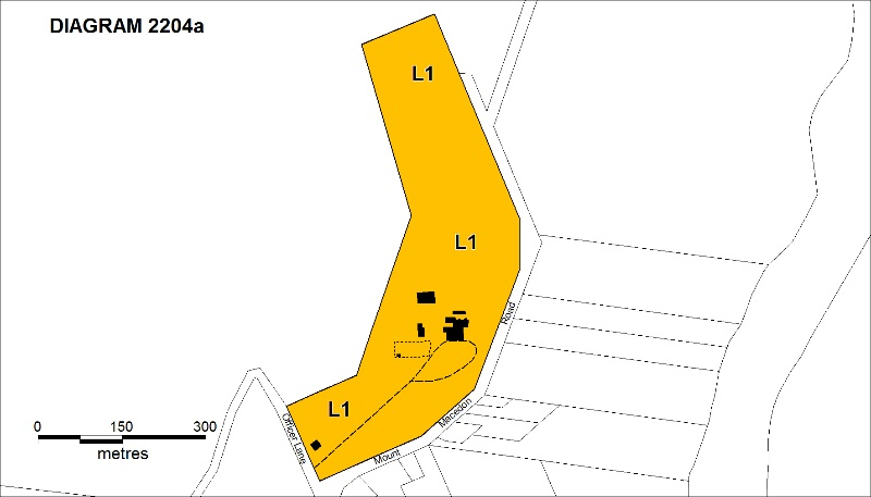 Duneira Mt Macedon Feb 2009 Plan A