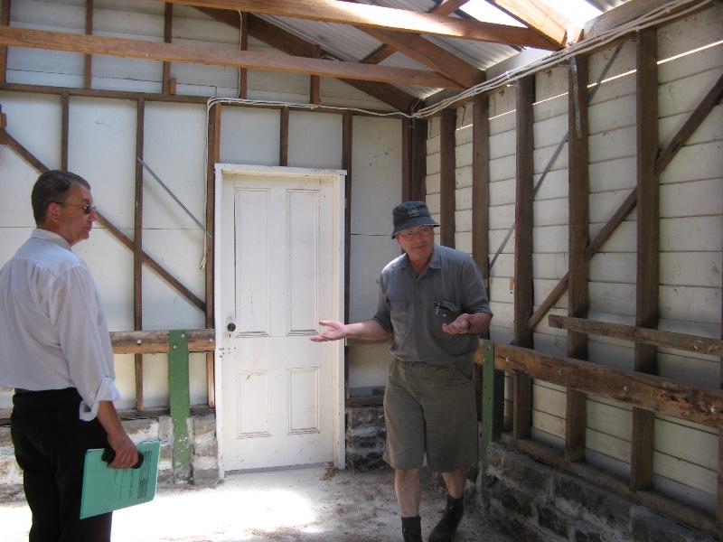 Clonard homestead complex_garage interior