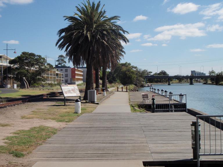 HO50 - Saltwater River Crossing Site & Footscray Wharves Precinct, Maribyrnong Street, Footscray.JPG