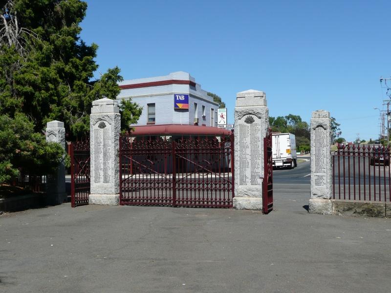 Prince's Park Memorial Gates