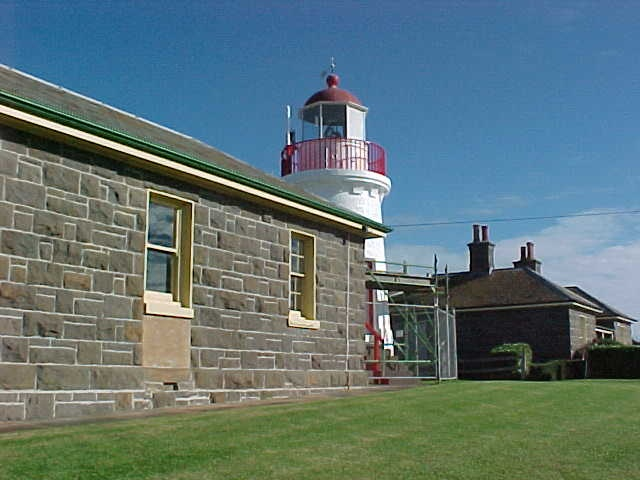 h01520 1 lady bay lighthouse complex chartroom jun04 pm1