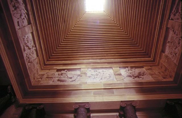shrine of remembrance st kilda road melbourne ceiling of inner shrine