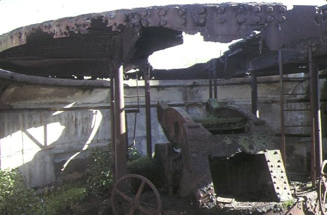 1 south channel fort gun emplacement jun1989