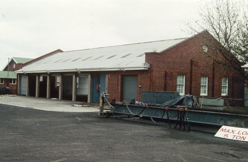 H01098 rafa barracks gun shed 1995
