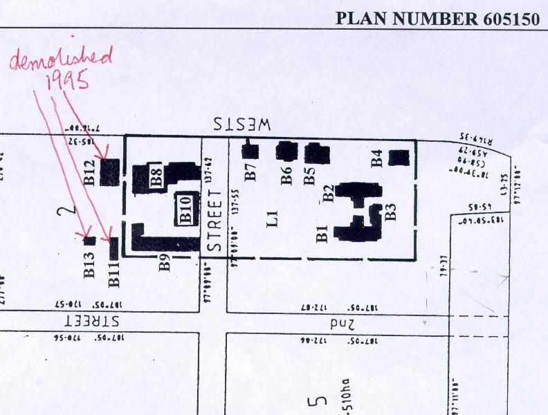 Rafa Barracks Plan
