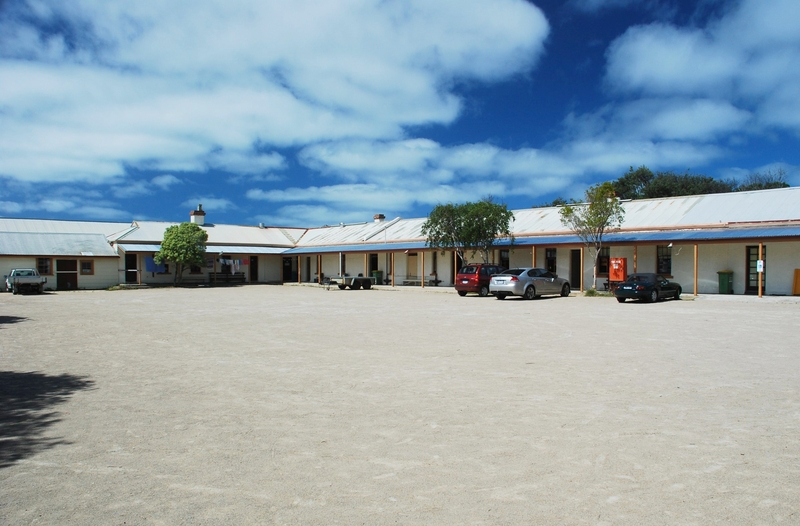 FORMER FORT FRANKLIN (PORTSEA CAMP) SOHE 2008