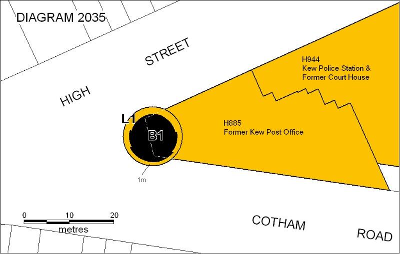 h02035 kew war memorial plan