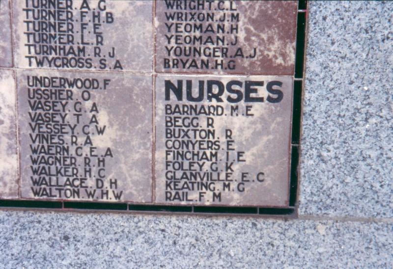 Kew War Memorial Honour Board 2004
