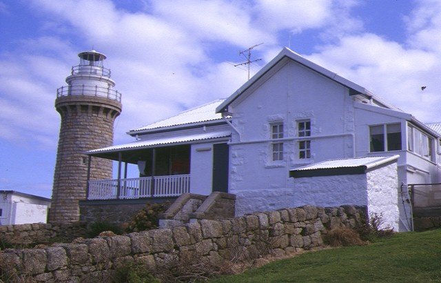 1 wilsons prom lightstation tower and headkeepers quarters aug 99