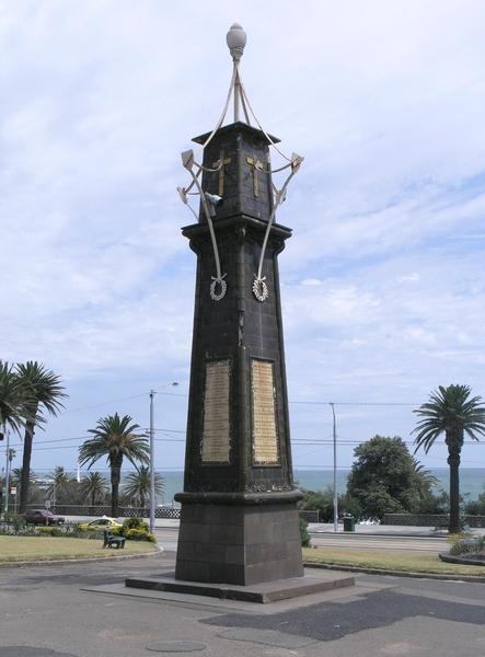 SOUTH AFRICAN WAR MEMORIAL SOHE 2008