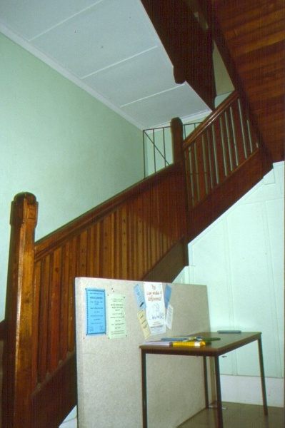 Jeparit Town Hall Staircase August 2000