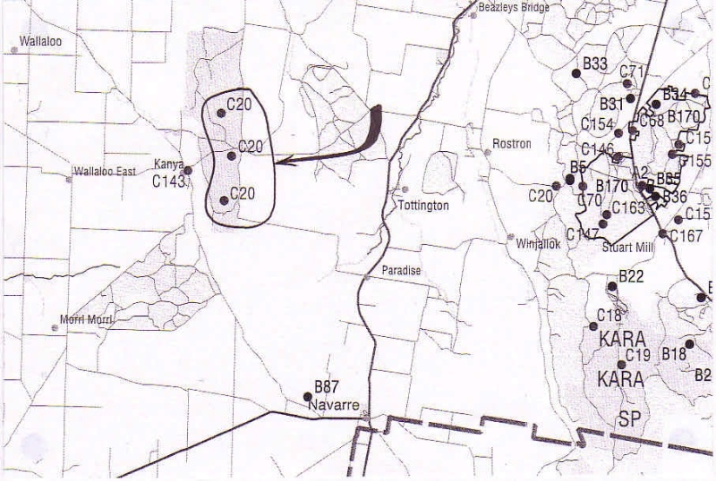 KA 04 - Map Name Navarre North XE 810 280 - Shire of Northern Grampians - Stage 2 Heritage Study, 2004