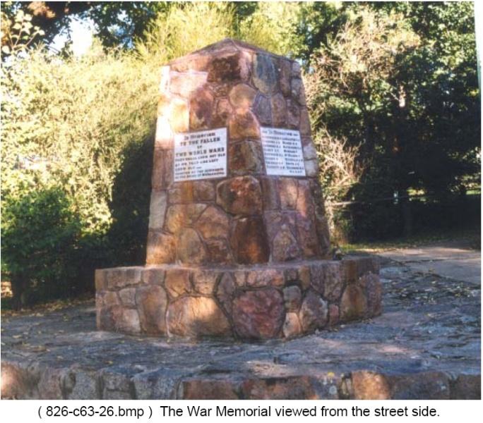 Eldorado War Memorial
