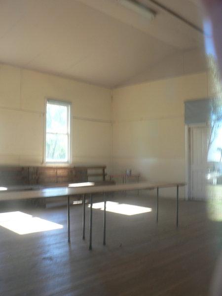 Gringegalgona Soldiers Memorial Hall - interior