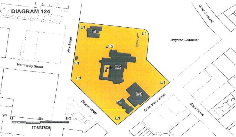 Plan H0124 St Andrews Brighton church