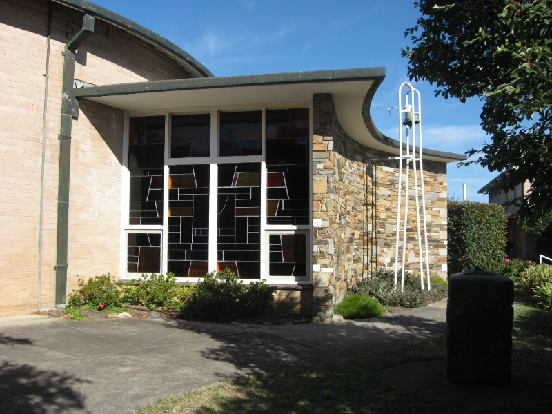 45050 St Faiths Anglican Church Glen Iris exterior of former baptistery 2010