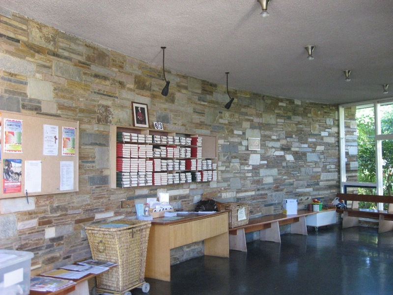 45050 St Faiths Anglican Church Glen Iris interior of narthex 2010