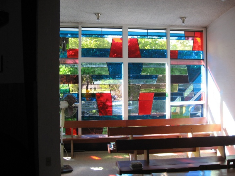 45050 St Faiths Anglican Church Glen Iris stained glass in south chapel 2010