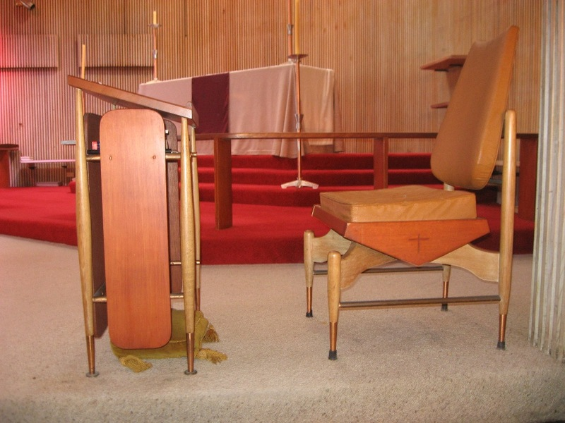 45050 St Faiths Anglican Church Glen Iris prayer desk and chair 2010