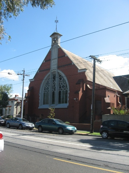 124816 Presbyterian Church Malvern south elevation 2010
