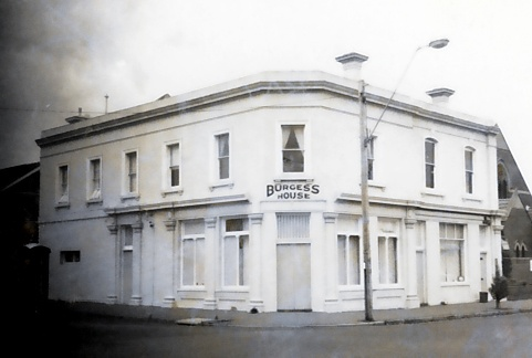 B0496 Burgess House Fmr Harbison's Timber Yard 164 Bay St Brighton