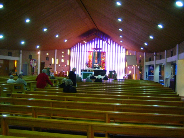 St Bernadette's Roman Catholic Church - interior