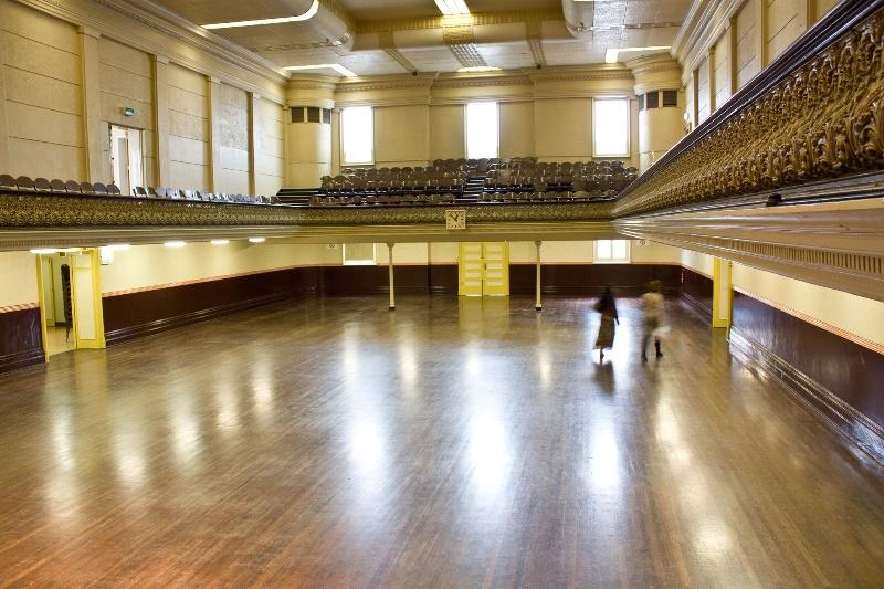 Collingwood Town Hall - Ballroom.JPG