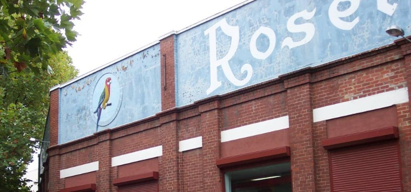 Richmond Balmain St 64 Rosella signage.JPG