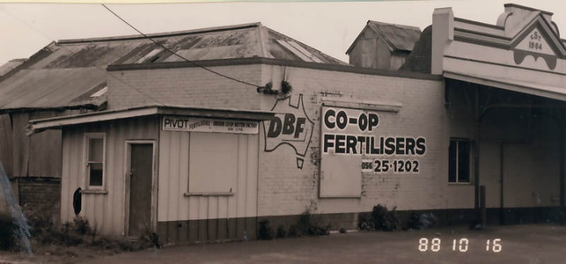 B6199 Drouin Co-operative Butter Factory