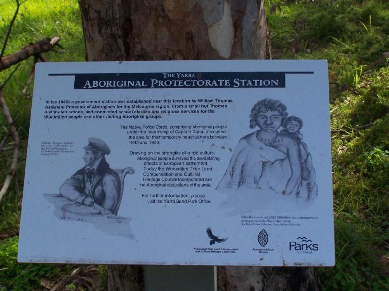 Western Port Aboriginal Protectorate Site - Plaque